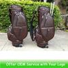Golf Buggy Bag, golf bag with wheel,leather buggy bag