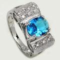 bons projetos rosário dedo do anel com safira