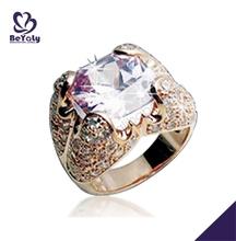 Тяжелая драгоценный камень серебряный последние золото палец кольцо дизайн