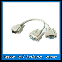 hdmi to vga splitter cable with 1male to 2 female vga splitter cable