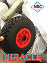 wheelbarrow solid rubber wheel