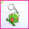 Stylish rubber pvc custom made key chains,silicone cheap keychain for promotion gifts