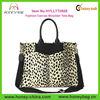 Popular Fashion Canvas Designer Handbag Supplier With Leather Trim