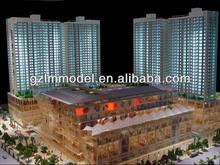 Pretty New City Plaza Rendering/Visualization/Modeling, Exterior Landscape Design scale model maker