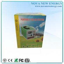 12~110/220V 20W solar panel with 150W AC output solar generator