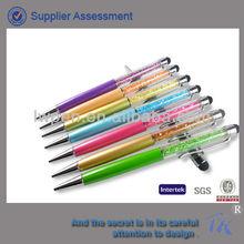 Fashionable Style Wholesale Crystal Stylus Ball Pen
