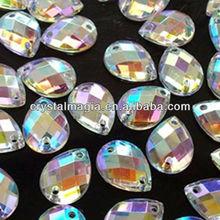 beautiful rhinestone sew on fabric crystal stone for dresses