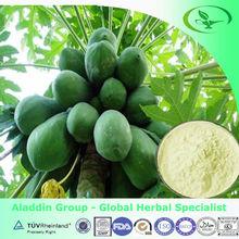 taiwan green papaya products,100% natural papaya extract powder
