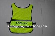 Reflective Vest Meet EN20471 Standard 100% Polyester Knitting