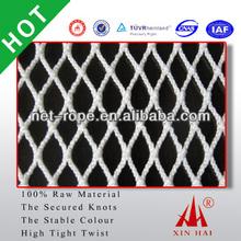Top quality Black 210D/250D Nylon Polyester 45*45*15 baseball batting cage netting; baseball cage net