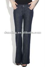 ladies fashion boot cut pencil jeans