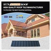 Colored sunstone brand plastic roofing shingles