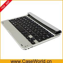 For ipad mini game keyboard wireless aluminum keyboard for ipad mini 2