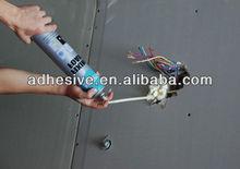 Polyurerhane fixing foam straw type