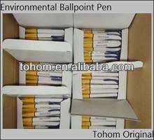 Cornstarch Biodegradable Ballpoint Pen For Souvenir