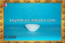 Good quality novel round cheap white ceramic plates bulk