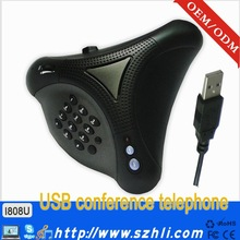 Cheap Price! i808U USB Voip Conference Phone Built-in Noise Eliminate Chip USB VoIP Skype Phone For Conference
