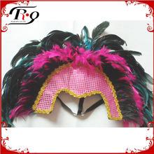 mardi gras carnival headdress