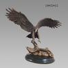 Flying Eagle Hunting Food Bronze Sculpture