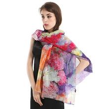Brand Spinning Wool Gift Pashmina Scarf Comforter