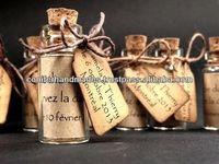 Empty Glass Bottles for Wedding STationers, Wedding Invitations, Weddings