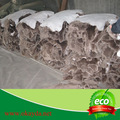 Natural de pele de carneiro botas de lã forro