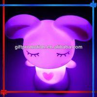 GIFT90 Lovely Rabbit clap night light