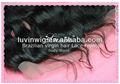 Brazialian/peruano/malásia/indiano virgem cabelo de seda topo encerramento laço frontais