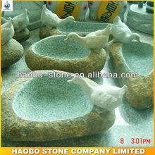 Natural Stone Birdbath Fountain