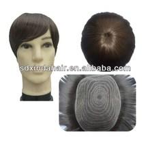 100% male wigs natural human hair