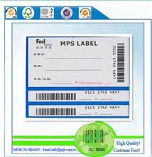 Adesivas de código de barras etiqueta, Fedex