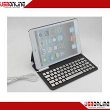 wholesale promotional for ipad mini case wireless bluetooth keyboard for ipad mini2 detachable bluetooth keyboard case