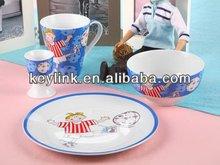 Newest hot-sale easter stoneware dinnerware set