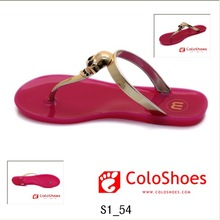 house indoor slippers wholesale jelly sandals