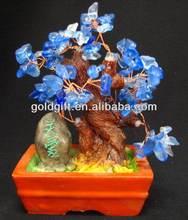 Fashion promotional crystal flower handicraft