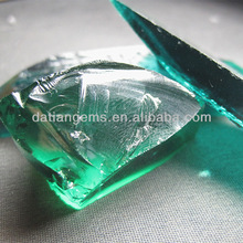 high quality synthetic rough uncut emeralds