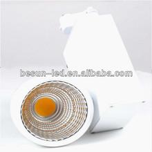 2/3/4-wires track base 315 pcs Epistar chip COB track 20w led spotlights