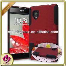dream net combo case for LG Optimus g/E975 rubberized case