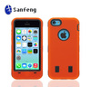 For Injection Molding iPhone 5C Case/Rubber Plastic Hard Case Cover For iPhone 5C/Silicone Protective Case For iPhone 5C