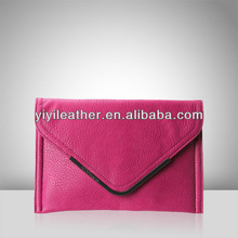 V581-latest envelope purse bag, lady clutch bag, make your own handbag