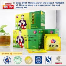 Chinese organic liver detox bag tea recipe