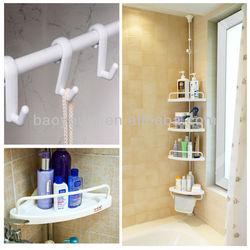 BAOYOUNI bath DIY holder vertical racks storage quick easy shelf rack DQ-601D