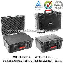 Plastic waterproof protective equipment case