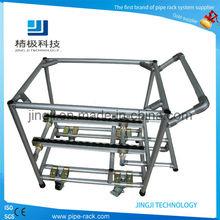 Beautiful aluminium alloy pipe rack