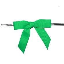 green grosgrain ribbon bows/mini ribbon bows/grosgrain ribbon bow tie