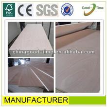 Okume aaa grade furniture use/outdoor waterproof plywood