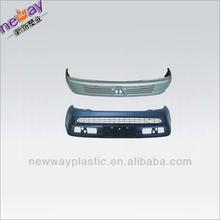 Injection molding car bumper