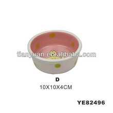 ceramic pet bowl (YE82496-D)