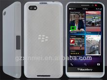 TPU silicon case for blackberry a10