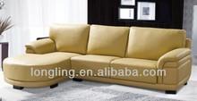 LK-837 nicoletti furniture corner leather sofa